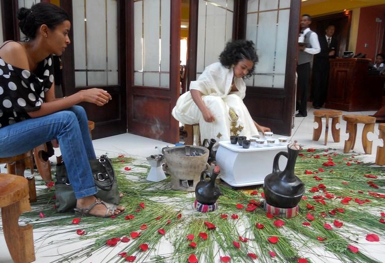 Ethiopian Coffee Ceremony Tradition3