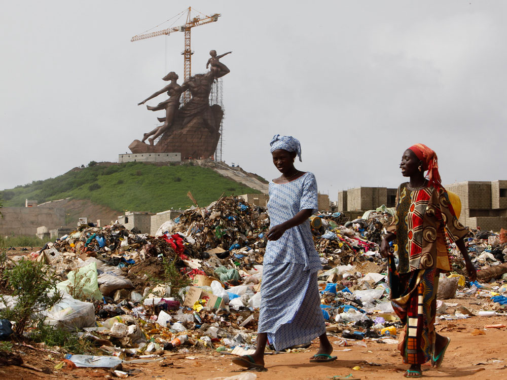 For Many in Senegal, Statue Is A Monumental Failure : NPR