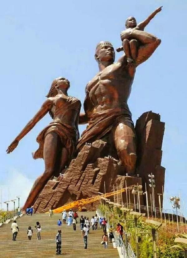 Black History Heroes: The African Renaissance Monument in Dakar, Senegal
